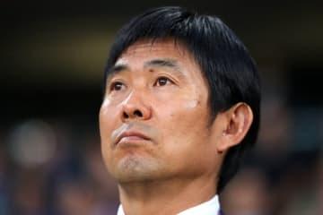 日本代表の指揮官に就任して以降、未だ無敗の森保監督 photo/Getty Images