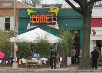 Description English: Comet Ping Pong in Northwest Washington, D.C. Date 11 December 2016, 14:31:19 Source Own work Author Farragutful