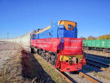 コルガス口岸の中欧班列、昨年運行本数2千本超える