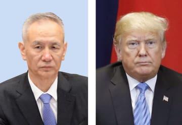 中国の劉鶴副首相、トランプ米大統領