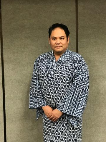 日系二世の歌舞伎役者、中村鴈京さん。日本留学を機に中村鴈治郎に弟子入りした