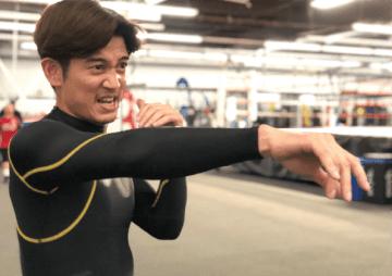 アクションのスキルを向上させようと、LAでは本格的なボクシングトレーニングも開始した