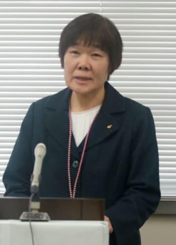 【不祥事の根絶に向けた取り組みを発表する廣田教育長=三重県庁で】