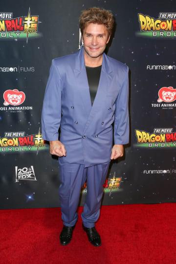 ドラゴンボールシリーズで15年間ブロリーを演じる声優ヴィック・ミニョーニャさん(Photo by Rich Fury/Getty Images for Funimation)