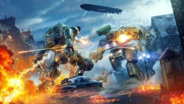 戦車対戦『World of Tanks: Mercenaries』期間限定の巨大ロボット戦モード登場―元『メックアサルト』チーム作品