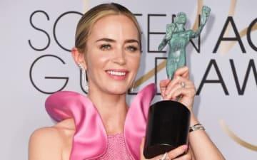 「スクリーン・アクターズ・ギルド賞2019」のレッドカーペットに登場したエミリー・ブラントさん