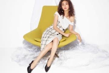 ファッションブランド「リエンダ」の2019年春夏のキャンペーンビジュアルモデルに起用された堀田茜さん