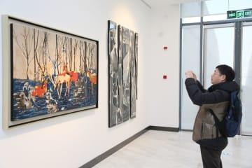 第5回全国漆絵作品展、上海で開催