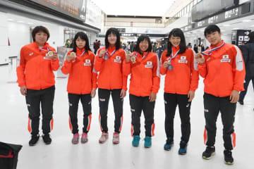 ヤリギン国際大会でメダルを取った選手たち