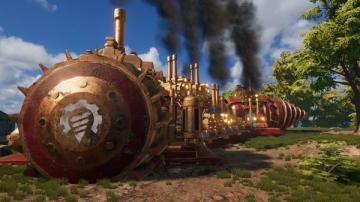 スチームパンクサバイバル『Volcanoids』Steam早期アクセス開始!ドリルシップで島を踏破せよ