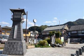 一部の旅館が「きなっせやつしろ宿泊クーポン」の対象施設になっている日奈久温泉=八代市