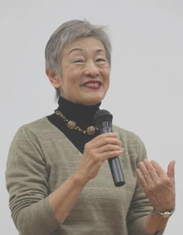 講演する大野寿子理事