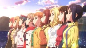 アニメ「ラブライブ!サンシャイン!!The School Idol Movie Over the Rainbow」の一場面(C)2019 プロジェクトラブライブ!サンシャイン!!ムービー