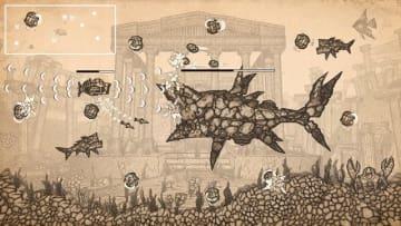 スケッチ画風の潜水艦シューター『Earth Atlantis』Steam版配信開始!