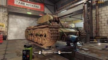 WW2戦車レストアシム『Tank Mechanic Simulator』配信延期ーパブリッシャーの承認降りず