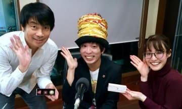 スイーツなかのさん(中央)、中西哲生(左)、綿谷エリナ