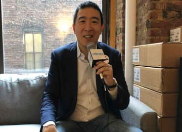 VIDEO EXCLUSIVE: 2020 Democratic Presidential Candidate Andrew Yang Explains Universal Basic Income