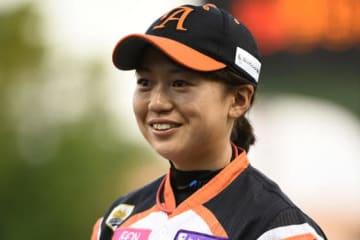 昨季限りで現役を引退した川端友紀さんの背番号「23」が女子プロ野球初の永久欠番に【写真提供:日本女子プロ野球リーグ】