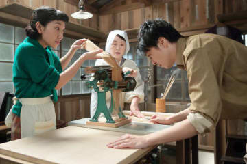 NHK連続テレビ小説「まんぷく」第102回の一場面(C)NHK