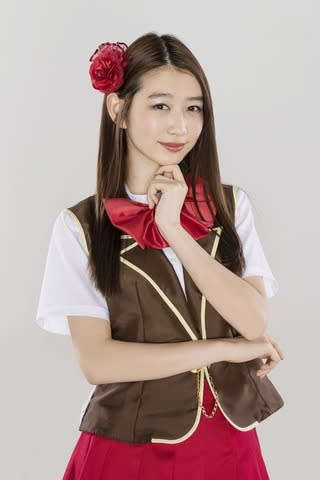 「BACK STREET GIRLS ゴクドルズ」に出演する岡本夏美さん(C)2019映画「ゴクドルズ」製作委員会