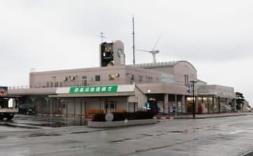 「マリンドリーム能生」として親しまれている道の駅能生=糸魚川市能生小泊