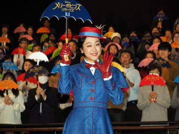ディズニー最新作「メリー・ポピンズ リターンズ」前夜祭イベントに登場した浅田真央さん
