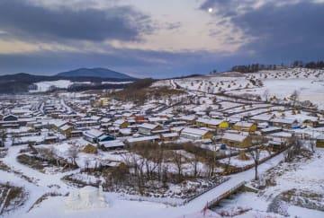 氷雪観光が村の観光を後押し 吉林省舒蘭市