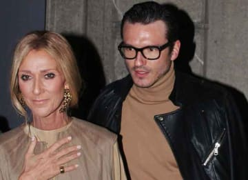 Celine Dion Spotted At Valentino Fashion Show With Boyfriend Pepe Munoz