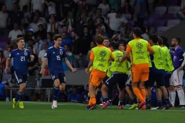 決勝へ駒を進めた日本代表 photo/Getty Images