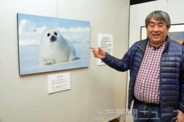 動物写真家に転身するきっかけとなった1枚を紹介する小原さん
