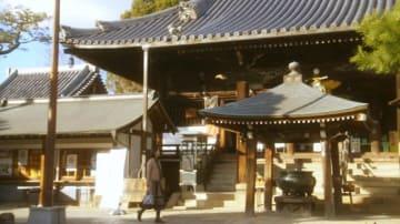藤井寺市内でのロケの様子