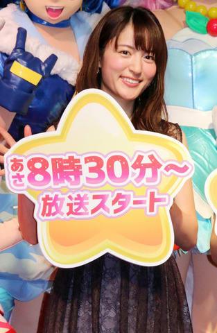 「スター☆トゥインクルプリキュア」「映画 プリキュアミラクルユニバース」に出演する小松未可子さん