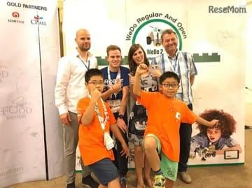 日本代表としてWRO2018国際大会「WeDo Challenge」出場した「Pblocs」チーム