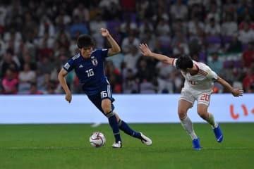 日本代表の守備支える冨安 photo/Getty Images