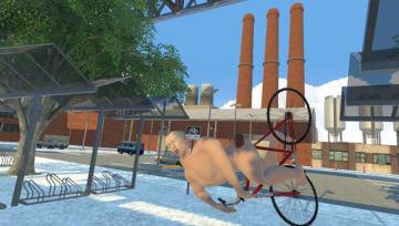 VR物理サンドボックスゲーム『Mosh Pit Simulator』Steam早期アクセス開始―全裸白目くねくね男が物理で縦横無尽に大暴れ!