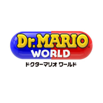 「Dr. Mario World」のロゴ (c)2019 Nintendo Co-Developed by LINE and NHN