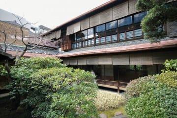 解体計画が浮上している京都市指定有形文化財の川崎家住宅=京都市中京区(同市文化財保護課提供)