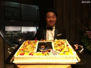 片山晋呉、46歳の生誕祭!(撮影:ALBA)