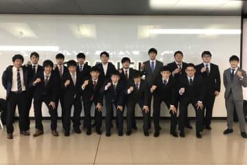 ブルガリアへ向かった西日本学生選抜チーム=チーム提供