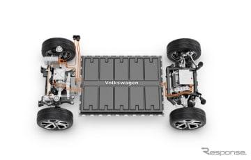VWグループの次世代EV向けモジュラープラットフォーム「MEB」