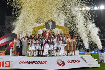 アジアカップを制したカタール代表 photo/Getty Images