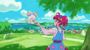 『スター☆トゥインクルプリキュア』第1話先行カット(C)ABC-A・東映アニメーション