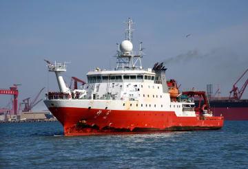 中国が深海6千メートルのデータを北斗衛星でリアルタイム伝送 初めて実現