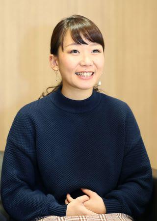 県警からイメージソング制作の依頼を受け「光栄です」と語るシンガー・ソングライターのTSUNEIさん=新潟市中央区