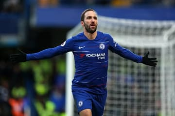 2ゴールの活躍を見せたイグアイン photo/Getty Images