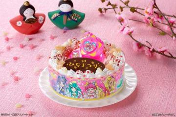 「キャラデコお祝いケーキ スター☆トゥインクルプリキュア」3,780円(税込)(C)ABC-A・東映アニメーション