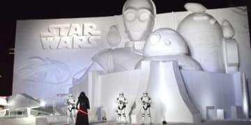 巨大! 完成した「白いスター・ウォーズ2019」 - (C) 2019 Lucasfilm Ltd. All Rights Reserved.