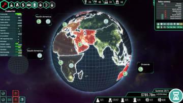サイバーパンク社会運営ストラテジー『Spinnortality | cyberpunk management sim』Steam配信開始!