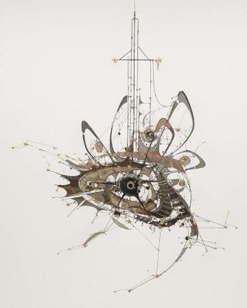 リー・ボンテクー Lee Bontecou (American, born 1931). Untitled.  1980-98. The Museum of Modern Art, NY. Gift of Philip Johnson (by exchange) and the Nina and Gordon