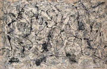 ジャクソン・ポロック Jackson Pollock (American, 1912–1956). Number 28, 1950, 1950 © 2018 Artists Rights Society (ARS), New York
